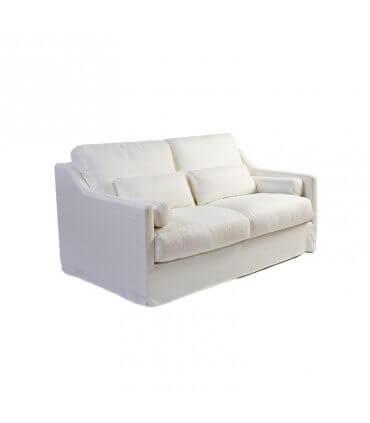 Sofá 2 plazas en lino