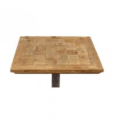 Mesa madera y metal