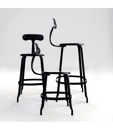 Chaises Nicolle Metal Alta