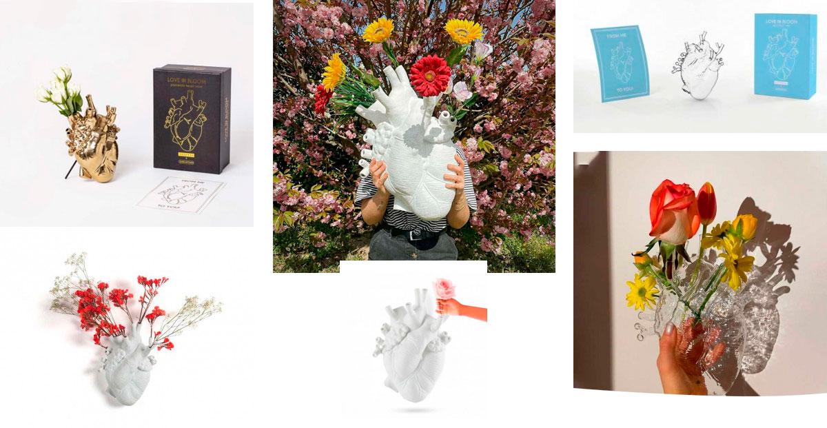 Love in Bloom de Marcantonio para Seletti en CarlaKey