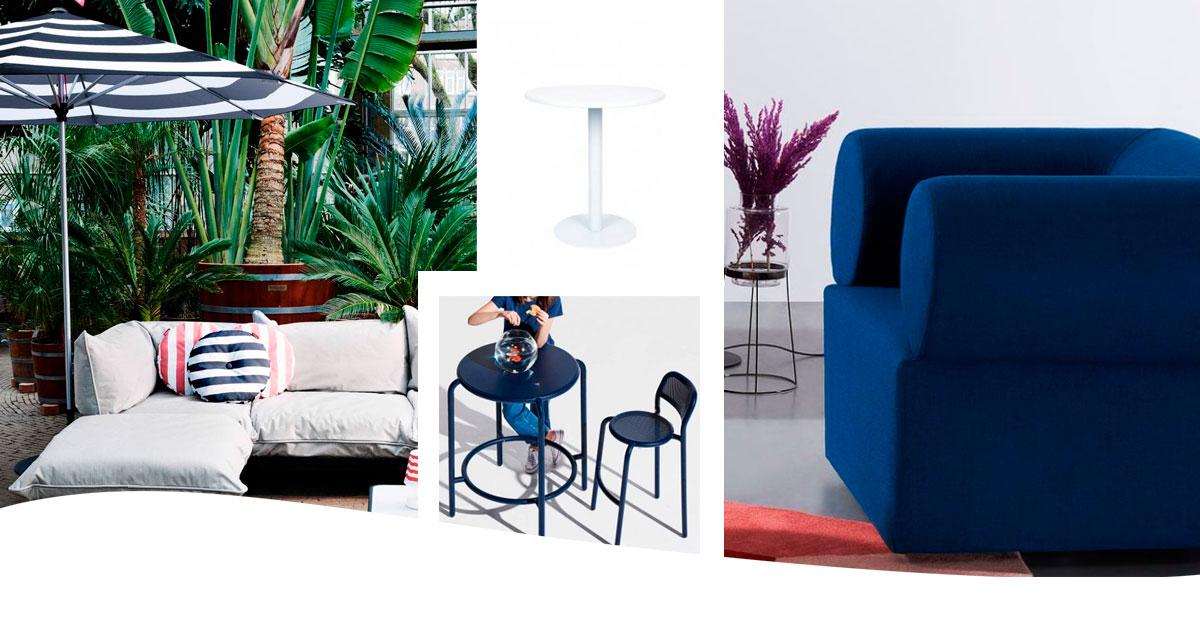 Muebles azules en CarlaKey