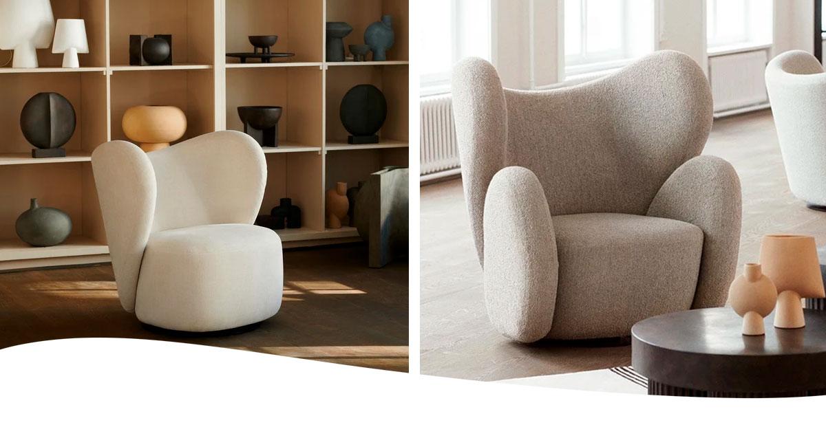 Butacas Big Chair de Norr11 en CarlaKey