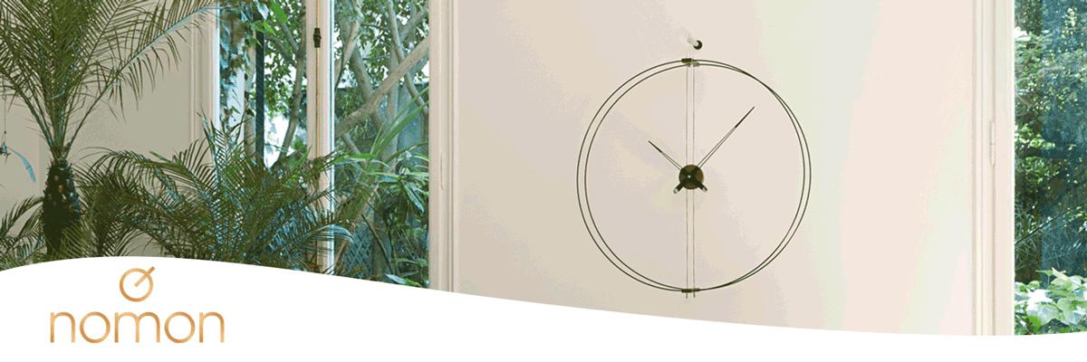 Nomon relojes de pared de diseño