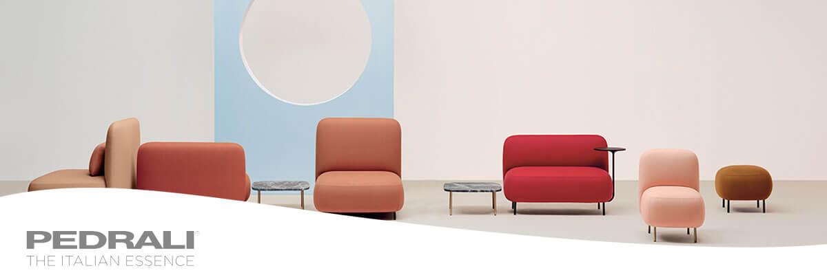Pedrali muebles de diseño italianos