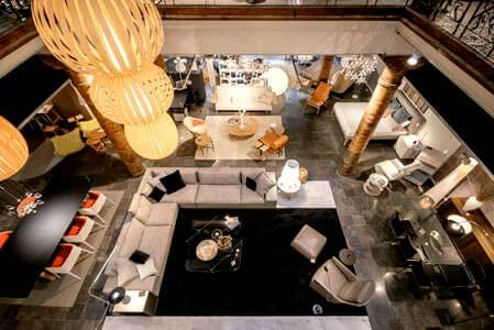 tienda muebles barcelona showroom
