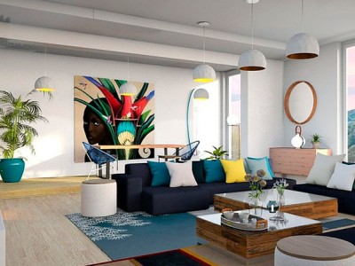 Salones Modernos: Los colores que debes usar para modernizar tu salón
