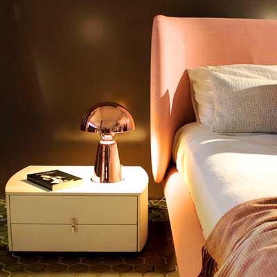 Lámparas de diseño para colocar en tu mesa