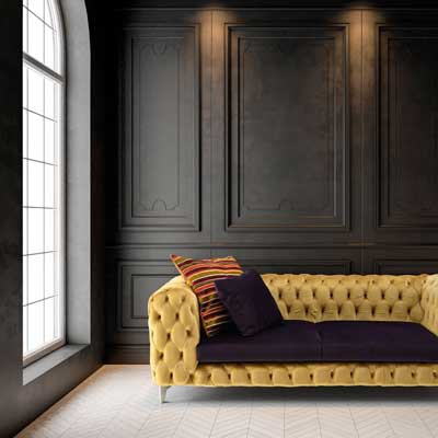 Un sofá de diseño, mira ¡Ven que te lo enseño!