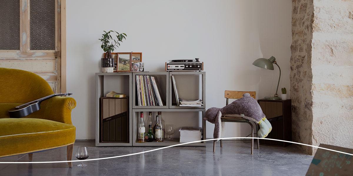 Lyon Béton, muebles de hormigón